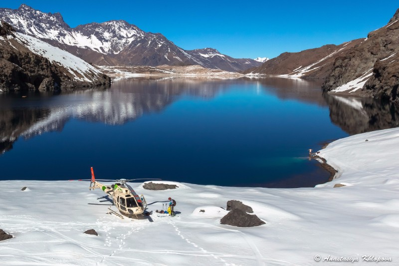 Heli Skiing with Pure Powder in Chile