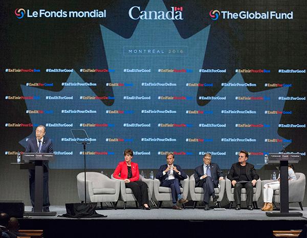 Ban Ki-moon addressing audience