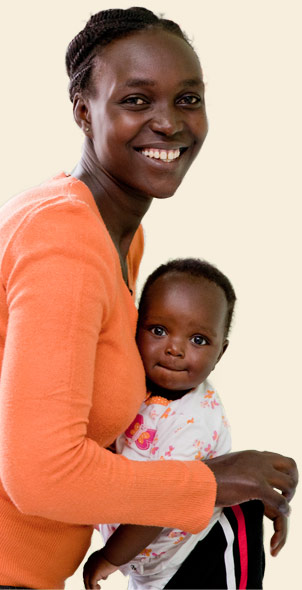 Photo: Woman with baby