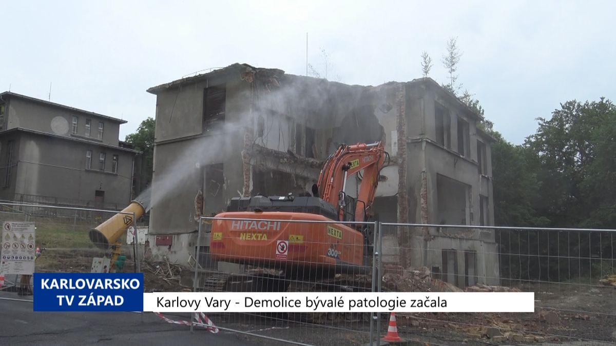 Karlovarský kraj: Zprávy 32. týdne 2019 (TV Západ)