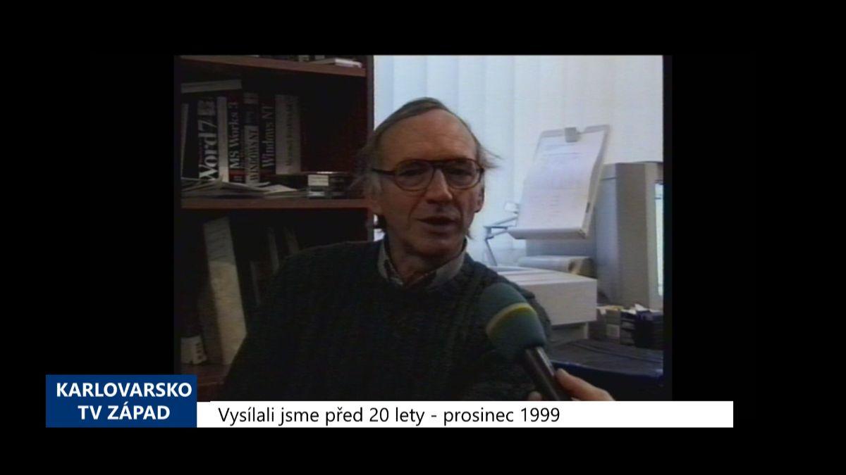 Karlovarský kraj: Archivní zprávy 52. týdne 2019 (TV Západ)