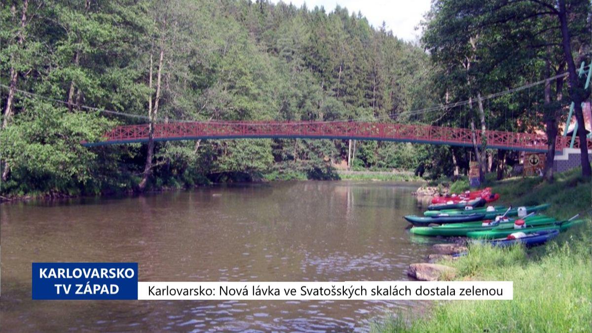 Karlovarský kraj: Víkendové Zprávy 21. týdne 2019 (TV Západ)