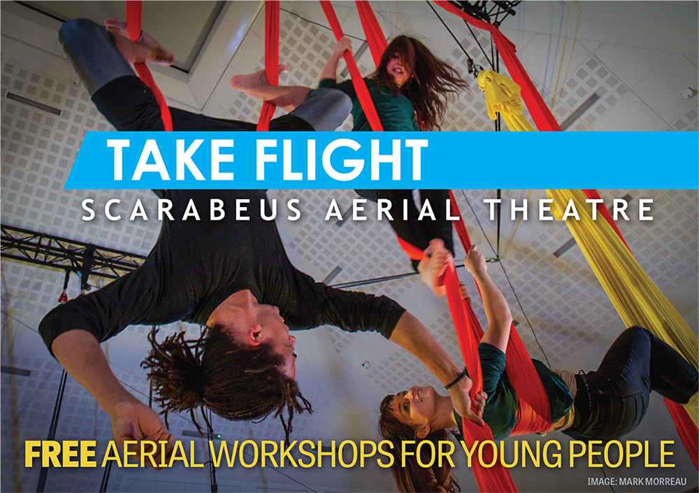 Free aerial workshops this summer!