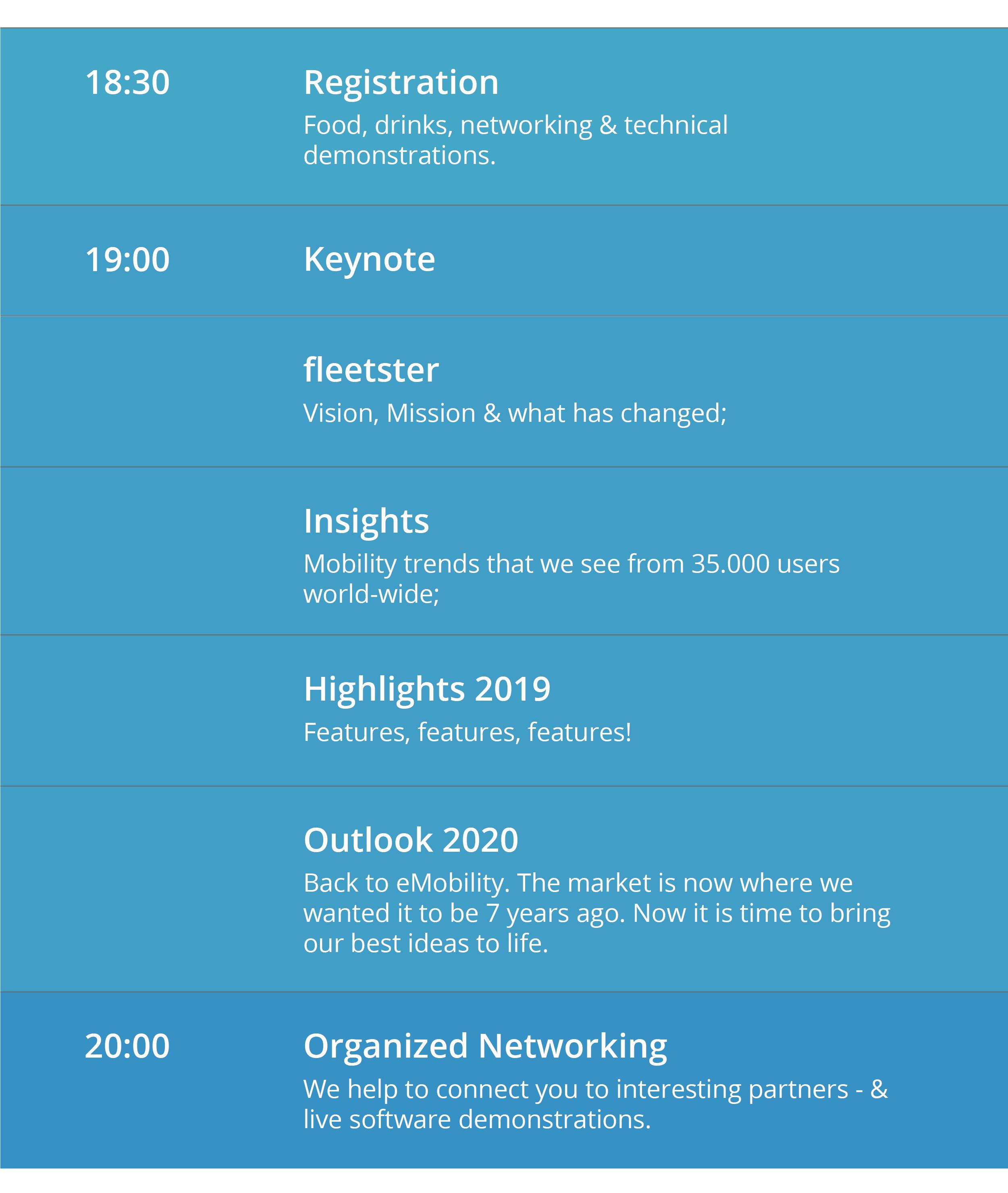 Agenda fleetster Realoded 2019