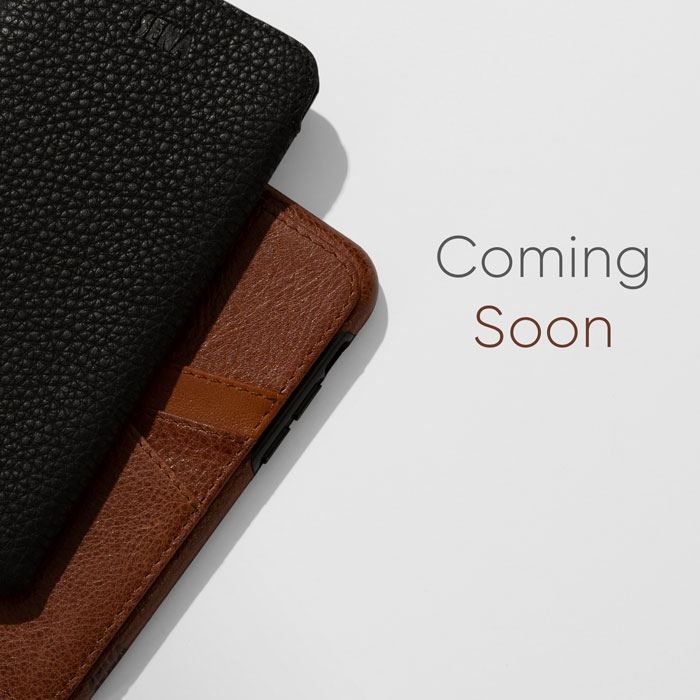 Coming Soon | New Leather iPhone Cases From Sena