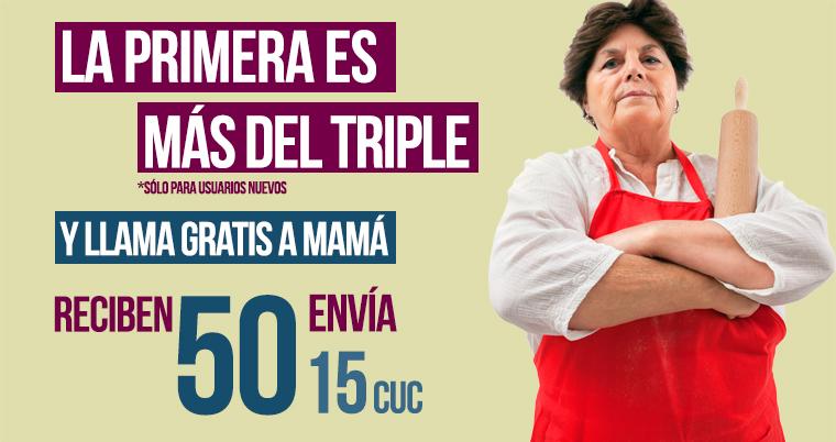 Oferta Más del Triple a Cuba