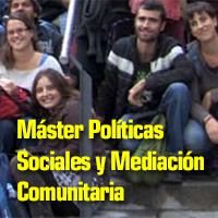 Master Políticas Sociales y Mediación comunitaria