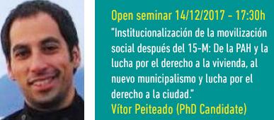Open Seminar Vitor Peiteado