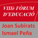 Subirats Peña Fòrum educació