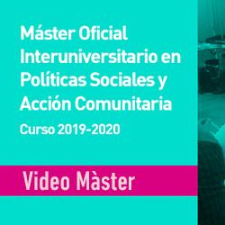 Vídeo Promocional Màster Oficial PSiAC 2019