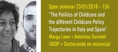Open Seminar Sorrenti i Leon