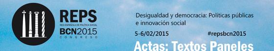Actas Paneles Congreso REPS BCN2015
