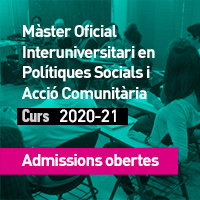 Màster Polítiques socials i Acció comunitària