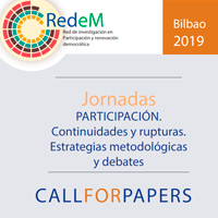 Call for papers Bilbao 2019