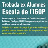 Trobada Alumni Escola IGOP