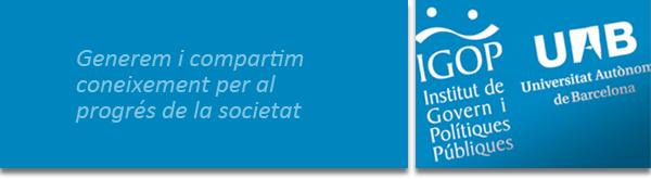 Newsletter Corporativa de l'Institut de Govern i Polítiques Públiques (IGOP)