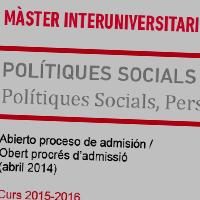 Master Interuniversitari PSiMC