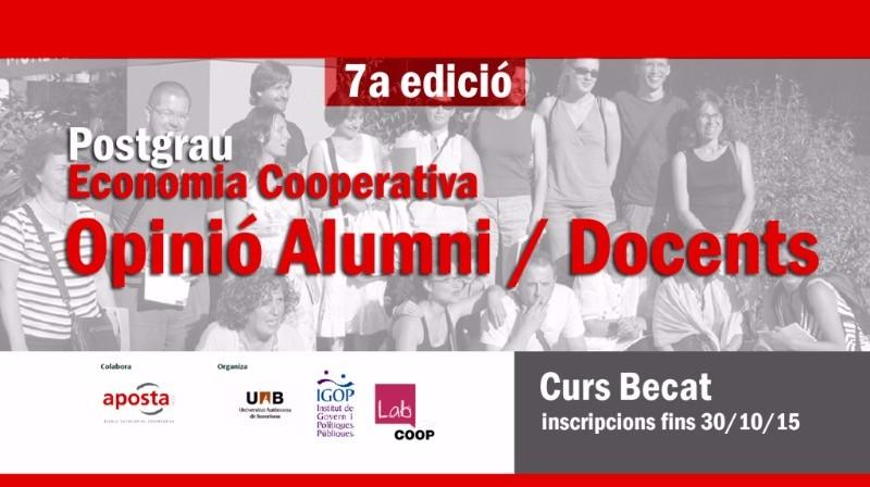 Alumni Postgrau Economia cooperativa