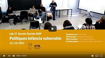 Video Laboratori Serveis Socials S17 Polítiques Infància vulnerable