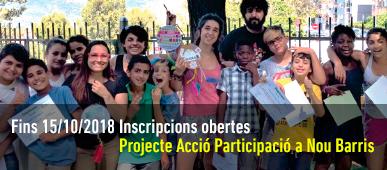 Projecte IAP Nou Barris 2018