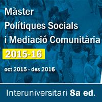 Master Polítiques Socials i Mediació Comunitaria IGOP