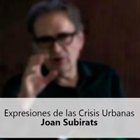 Joan Subirats Seminario Brasil EU