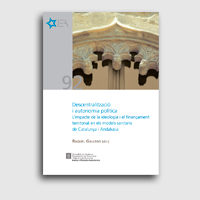 Informe descentralització i autonomia política