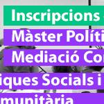 Master Polítiques Socials i Mediació Comunitària IGOP
