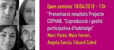 Open Seminar Projecte COPHAB