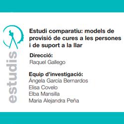 Raquel Gallego Estudi models de previsió de cures