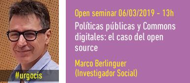 Marco Berlinguer #urgocis