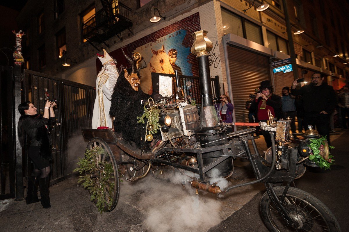Kimric Smythe's steam car