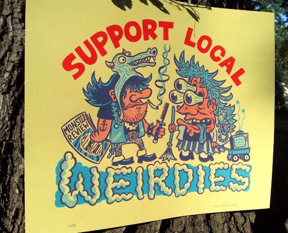 Support Local Weirdies by Friend Prices