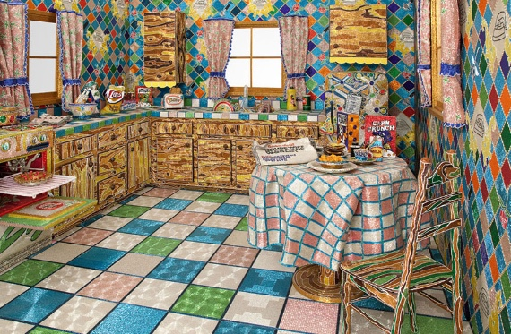 Liza Lou kitchen