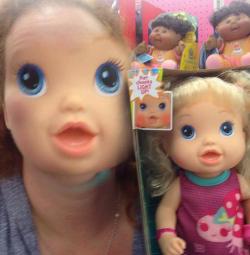 Rusty Blazenhoff as a doll