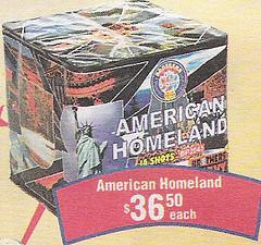 American Homeland Fireworks