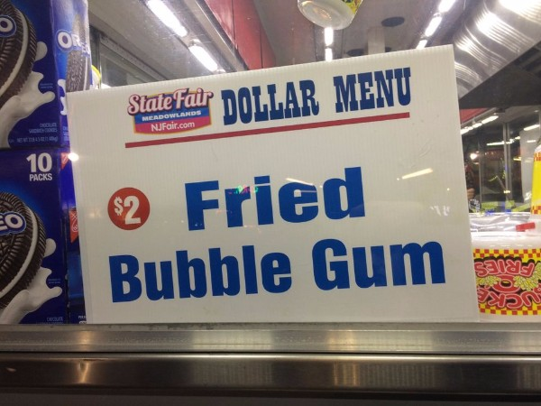 Deep-fried Bubble gum