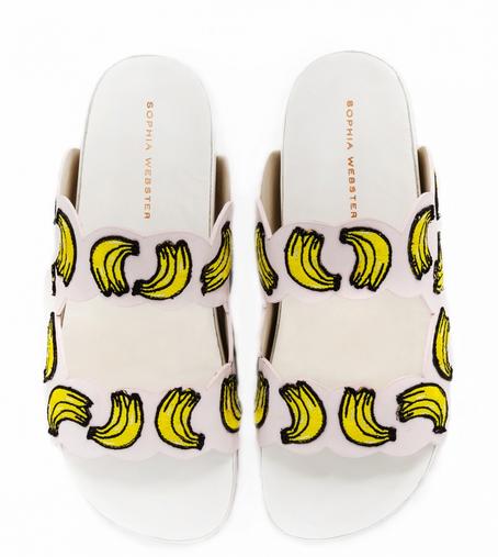 Sophia Webster Becky banana shoes