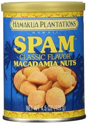 SPAM classic flavor macadamia nuts