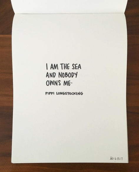 I am the sea and nobody owns me