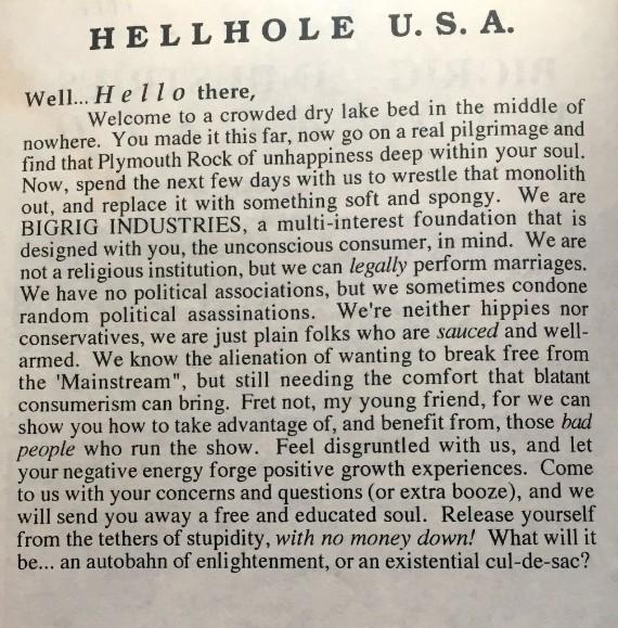 Hellhole U.S.A.
