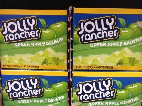 Jolly Rancher Green Apple Gelatin