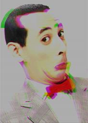 Pee-wee Herman glitch