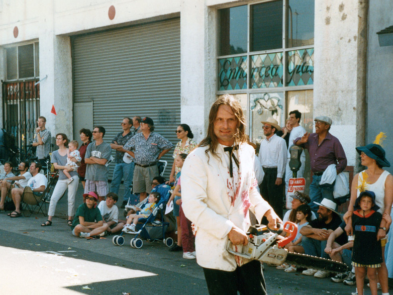 John Law at the Meat Parade, 199-something