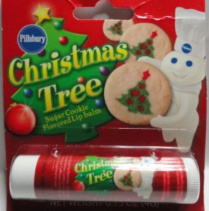 Sugar Cookie Christmas Tree lip balm