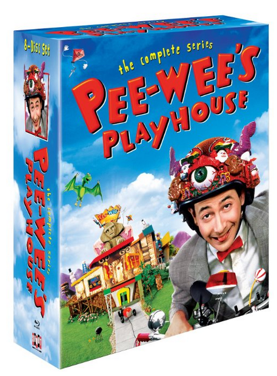 The complete series Pee-wee's Playhouse on blu-ray