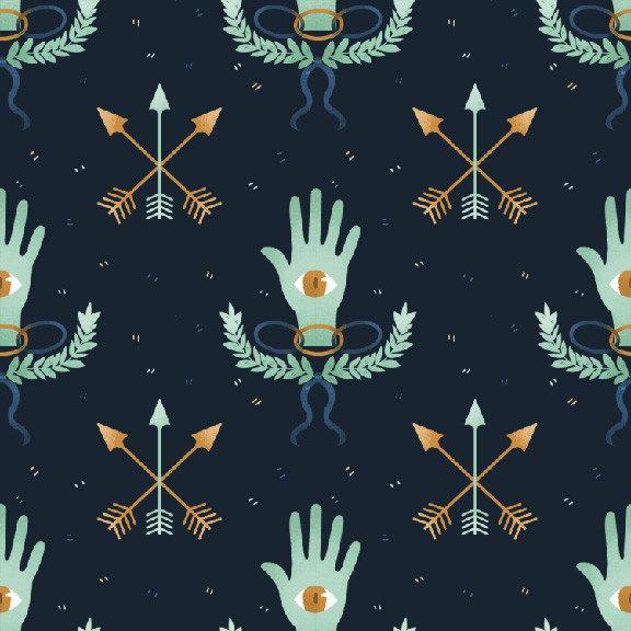 Emma Trithart's Secret Society Removable Wallpaper