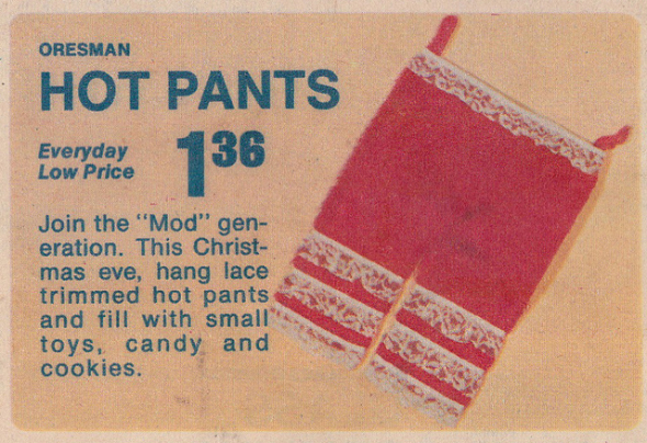 Oresman Hot Pants: Join the Mod generation