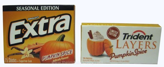 Pumpkin spice gum