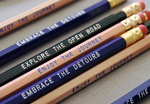 Road Trip pencils